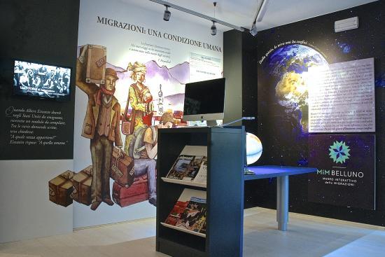 MiM Belluno - Museo Interattivo delle Migrazioni