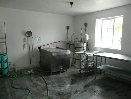 Oolite Cheese Company: Production room