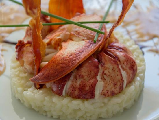 Bistro 2 Génies : Risotto de homard