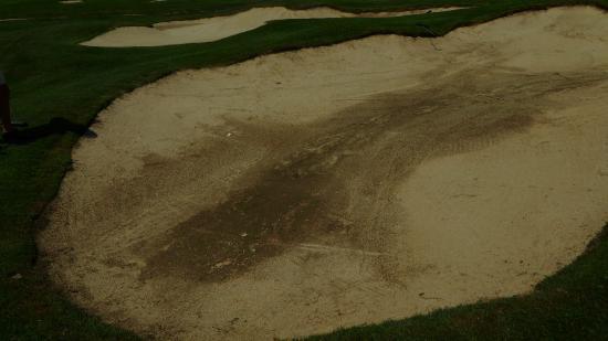 Golf Club Castelconturbia: Bunker Yellow 9