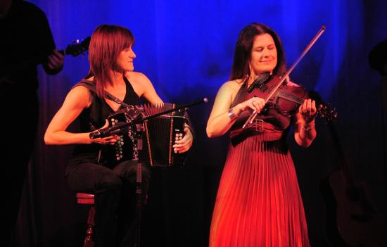 Trad on the Prom: Talented musicians