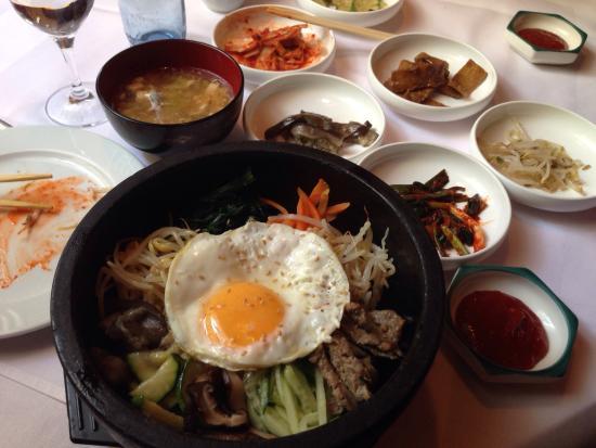 super leckeres traditionell koreanisches essen korea haus. Black Bedroom Furniture Sets. Home Design Ideas