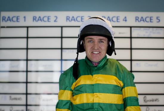 Limerick Racecourse Barry Geraghty on his first day as retained rider for owner JP McManus