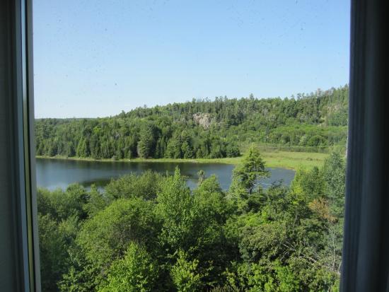 Hampton Inn Elliot Lake: A beautiful view from my room