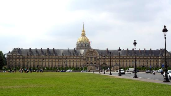 Cathedrale Saint Louis Des Invalides The Church Is In Middle Of Hotel
