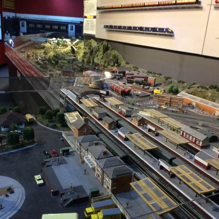 The Hornby Visitor Centre: Model rail