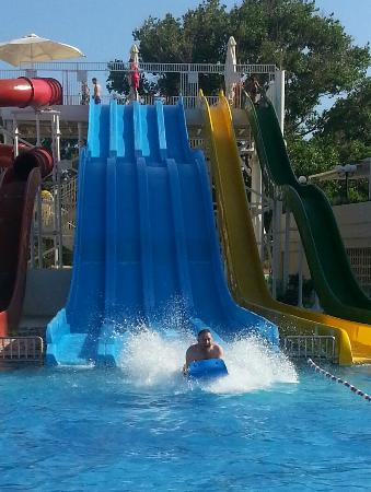 Louis Creta Princess Beach Hotel: Water slides