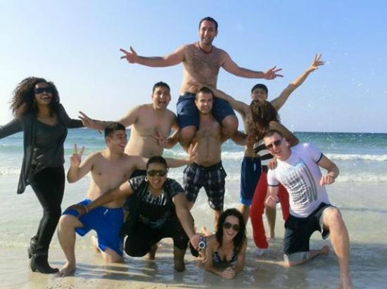 Group Picture Of Al Mamzar Beach Park Dubai Tripadvisor