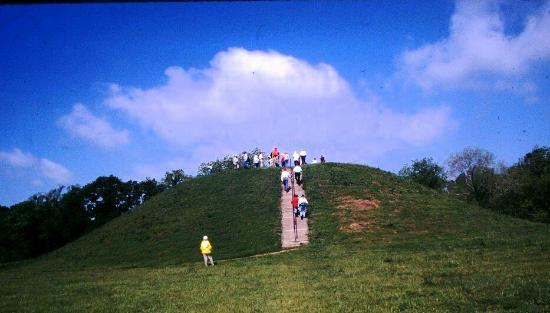 นัตเชซ์, มิซซิสซิปปี้: mound visitors