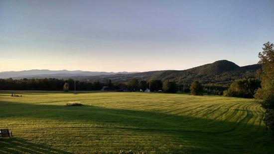 Websterville, VT : Sunset view from the Lodge