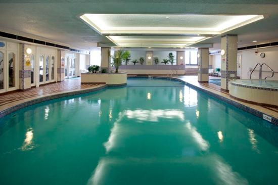 The Grand Hotel: Heated indoor pool