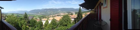 Malosco, Italien: Vista dall'hotel  Suite ❤