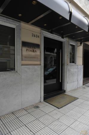 Alta Piazza: Hotel Front Door