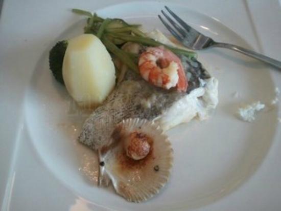 Restaurante El Canario: Merluza con verduras