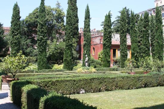 Giardino giusti verona veneto italy europe stock photo
