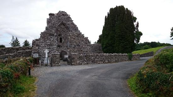 Creevelea Friary: The entrance to the Friary