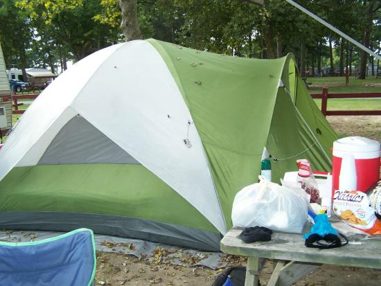 Tom's Cove Park : We had a tent and a camper on this site