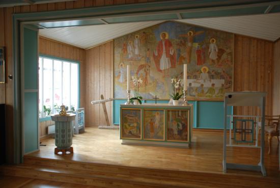 Longyearbyen, Noruega: Bunter Altarbereich