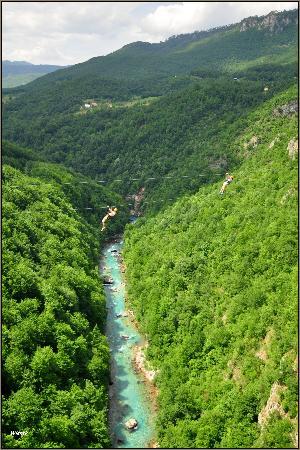 Zabljak, Czarnogóra: Kanion rzeki Tary
