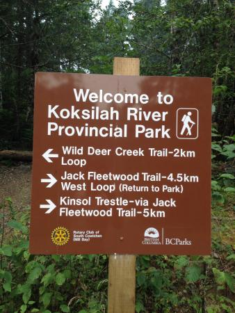 Shawnigan Lake, Канада: Perfect trails for running! :)