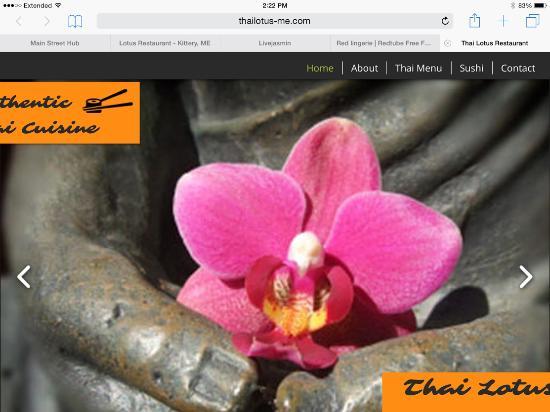 Kittery, ME: Thai Lotus Restaurant.