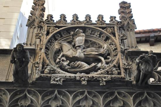 Image result for Arch of St George in Barcelona