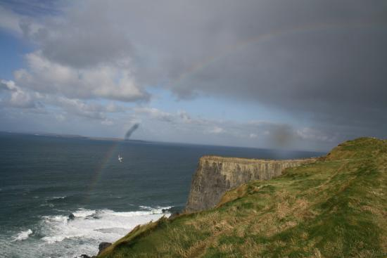 Clare Coastal Walk Project: Amazing view before seeing the Cliffs.
