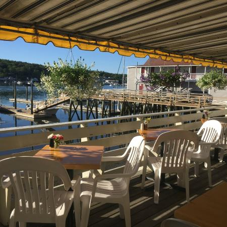 Blue Moon Cafe: The Harborside Deck