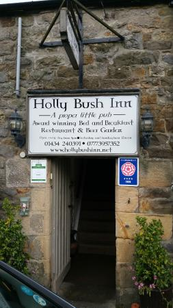 Greenhaugh, UK: The Hollybush