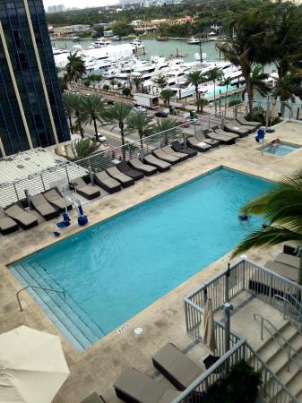 Upper Level Pool View From Our Room Picture Of Grand Beach Hotel