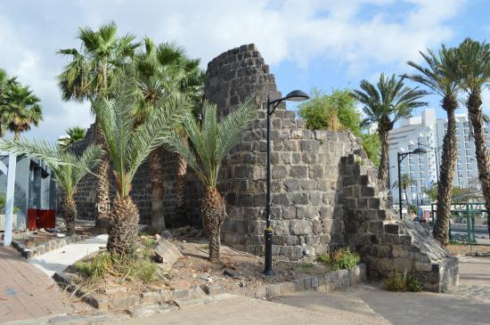 Tiberias : Restos de Muralla, Tiberíades.