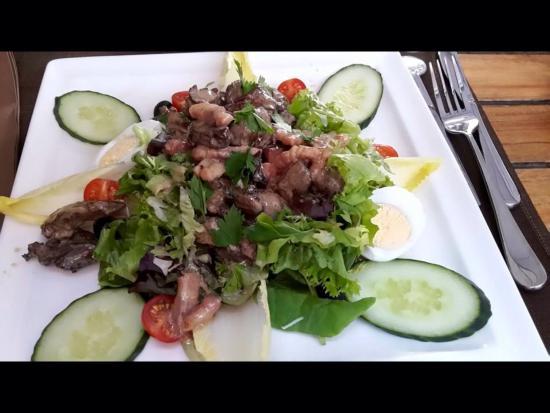 Chez Toni: Salade de gésiers