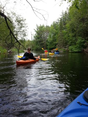 Floating down the Ausable River! - Picture of Penrod's