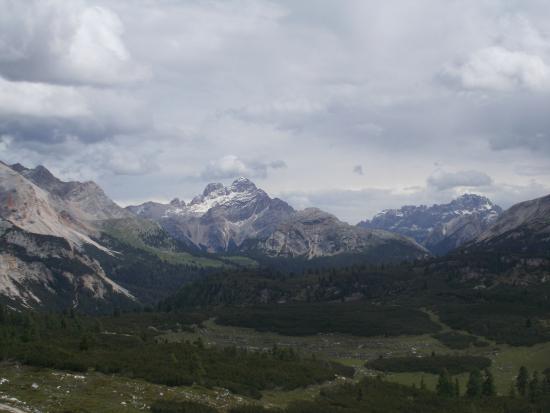 Rifugio Sennes: Panorama