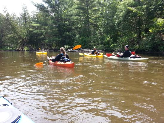 Chippewa Landing: Floating on the Manistee!