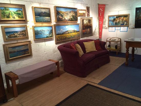 ... DEMARIA - The Open Lake & Landscape Studio d'Arte : Studio interior