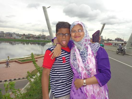 Hatir Jheel : me and  sister