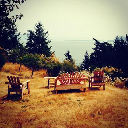 Orcas Island Bayside Cottages: View on the property
