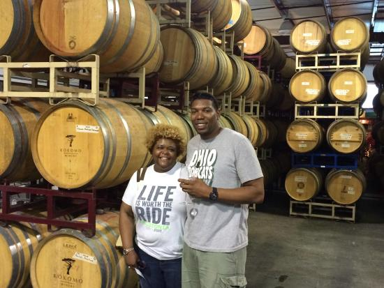 Wine Country Journeys LLC: The smell of wine and oak is amazing!