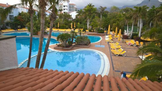 Park Club Europe Hotel: Vista dal terrazzo della camera
