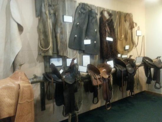 Moscow, ID: Spend time with each saddle. (Adults only: You can touch. Carefully.)