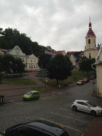 Hotel Stramberk: piazza