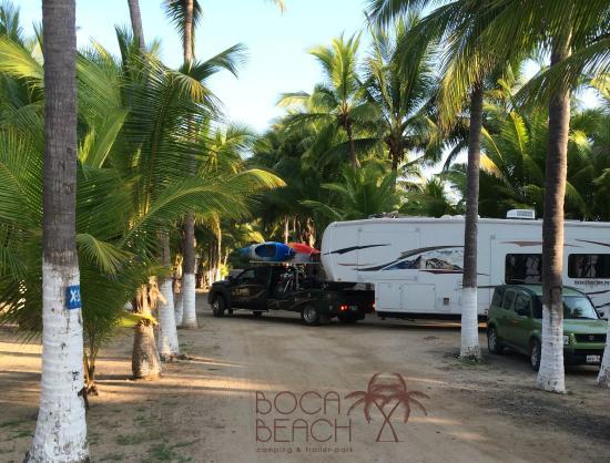 Foto De Boca Beach Camping Amp Trailer Park La Manzanilla