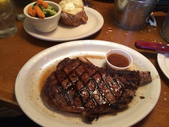 Texas Roadhouse: Bone-in rib eye