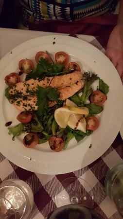 Salvatores Trattoria: Mycket trevlig presentation. ..t o m Glutenfri pasta Pescatora kan man få☺