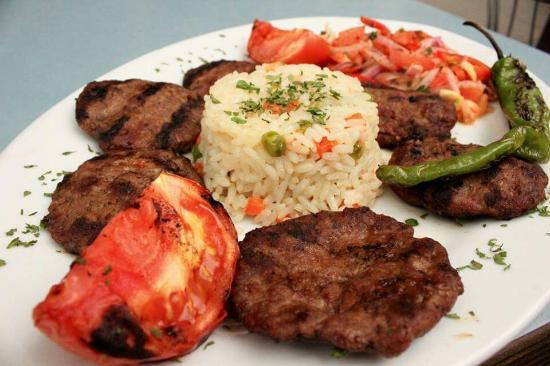Avesta : crevette; kofte: chicken wings ; filet mignon