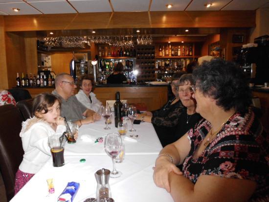 Mamma Mia: souper en famille