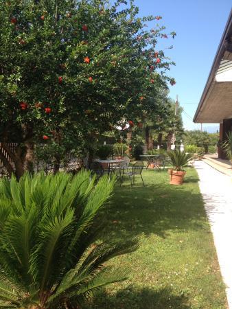 Hotel Residence Miralago Manerba del Garda: Ontbijt in de tuin