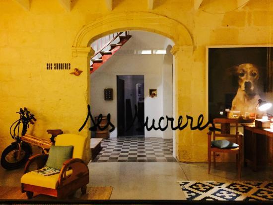 Hotel Ses Sucreres: L'entrée