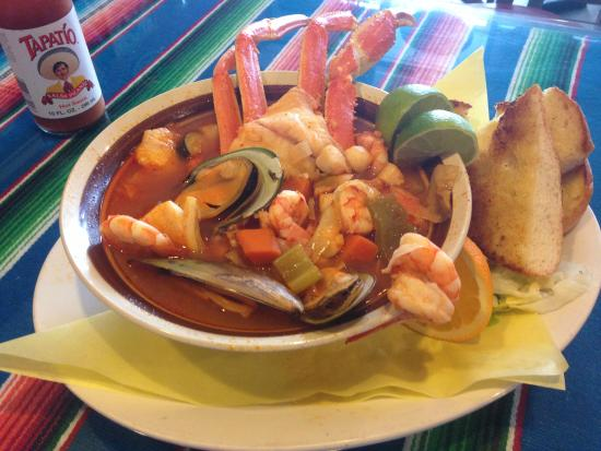 siete mares soup soup of the 7 seas picture of
